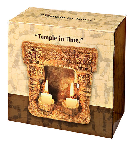 Shabbat Temple Candle Holder