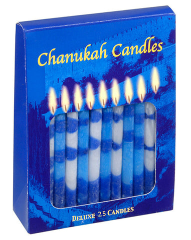 25 Menorah Candles - Holy Land Gifts