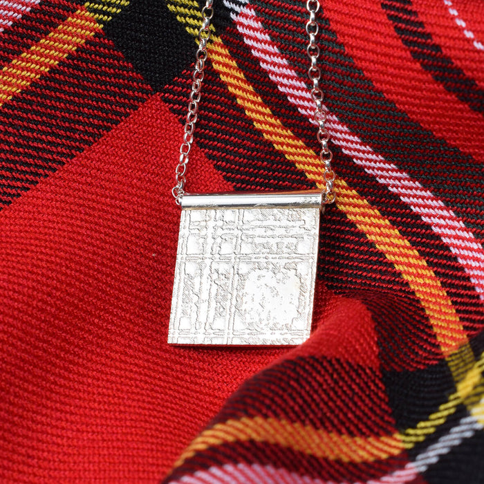Royal stewart necklace, Royal Stewart gift for woman, Royal Stewart Tartan present, Scottish necklace