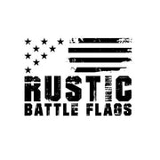 Rustic Battle Flags
