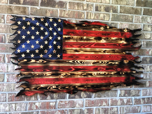 US Rustic Battle Flag