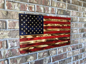 US Rustic Flag