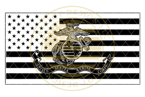 Marine Field Flag Flag