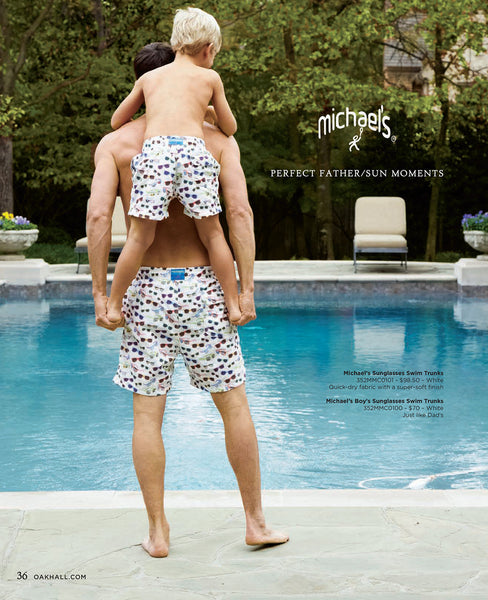 Michael's Swimwear in Oak Hall Magazine