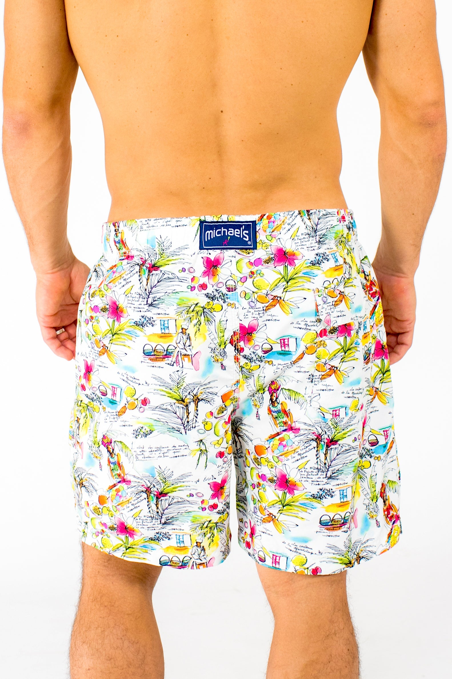 3369b08f88 2019 Men's Swim Trunks With Cyclist Liner - Michael's Swimwear