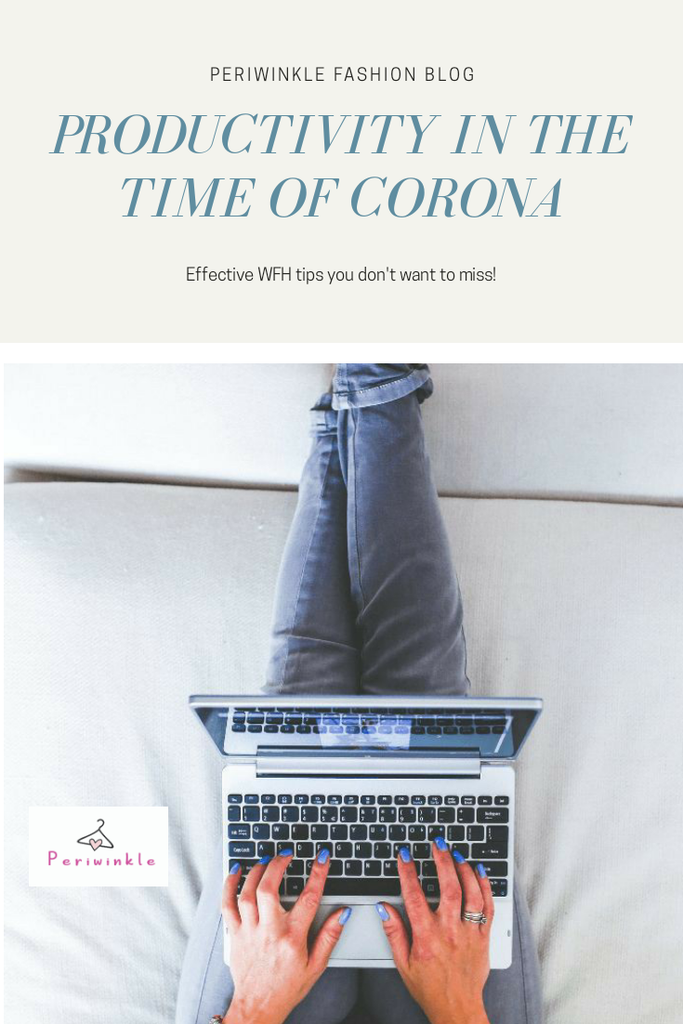 Productivity in the time of Corona.