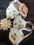 Floral Print Double Layered Cotton Reusable Masks