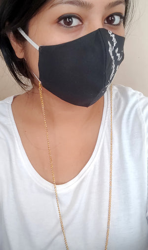 Golden Multipurpose chain (Mask not included)