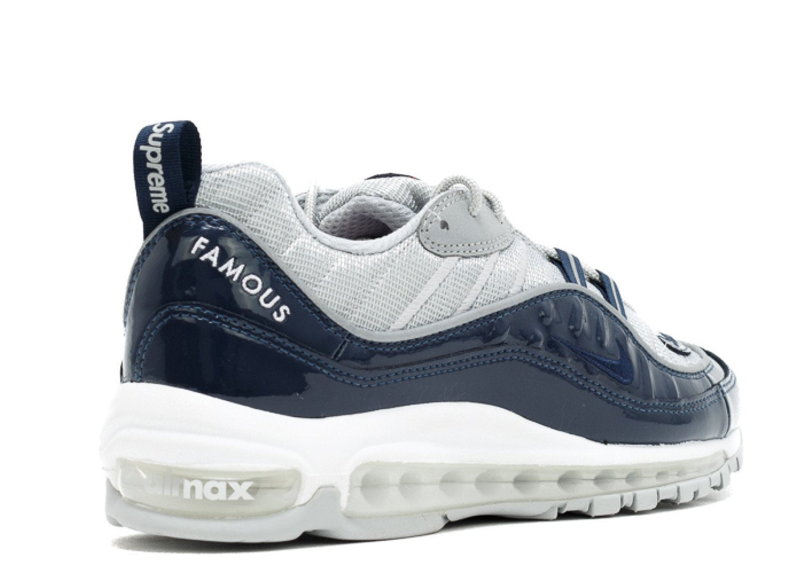 d76a643a1b Supreme x Nike Air Max 98 Navy | 844694-400 – Sneakershoeworld