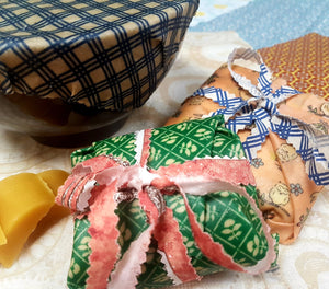 DIY Beeswax Wrap Kit Plus 1 Wrap