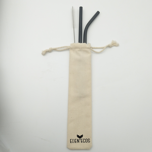 Stainless Steel Straw Bag