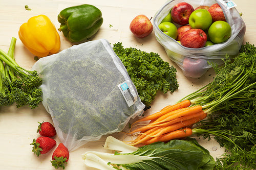 Onya Produce Bags - 5 or 8 Pack with carry bag
