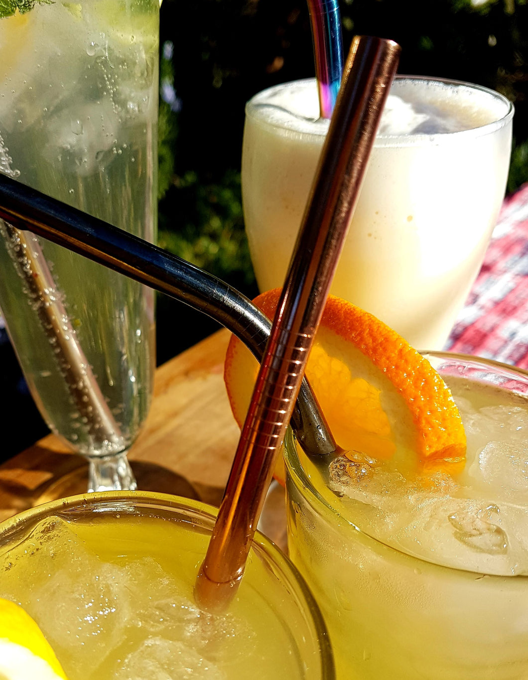 Stainless Steel Straws - Single