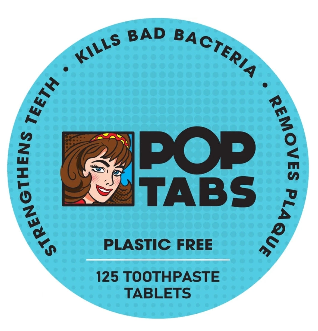 Pop Tabs Toothpaste and Tablets