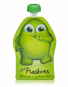 Little Mashies Reusable Food Pouches 2 Pack