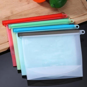 Reusable Silicone Zip Bags