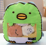 Lil' Bird and Friends Tsumettow Pillow Front