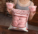 Tea Cup Pigs Tsumettows Pillow