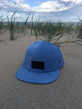 Load image into Gallery viewer, 5 panel Hat ( light blue Cordaroy )