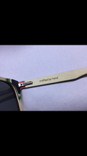 Load image into Gallery viewer, Wood crafted Polarised custom sunglasses