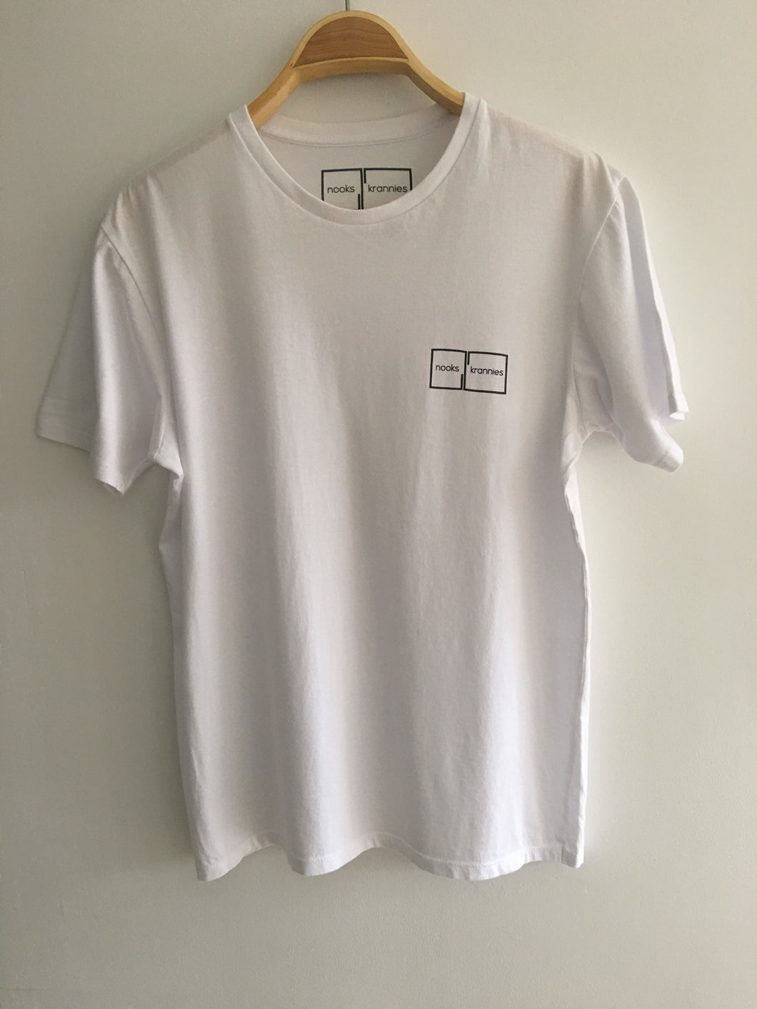 Men's T Shirt (White)