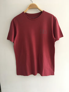 Mens T Shirt (Light Maroon)