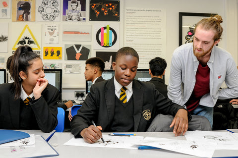 More Than Coffee | Bringing Art + Industry to Schools in the UK