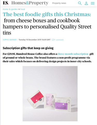 Evening Standard, Best Foodie Gifts, Online, 2019