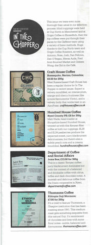 Caffeine Magazine, Issue 30, In the Hopper