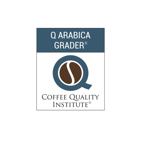 Coffee Quality Institute | Certified Q Grader | 2010, 2014, 2017