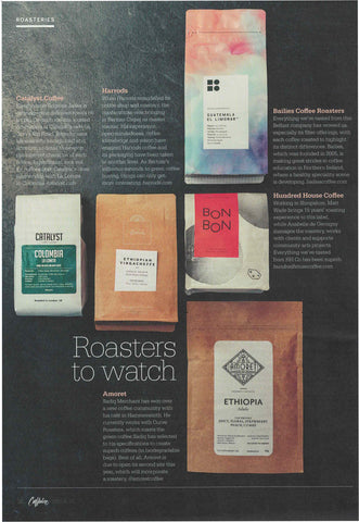Caffeine Magazine, Issue 32, Roasters to Watch