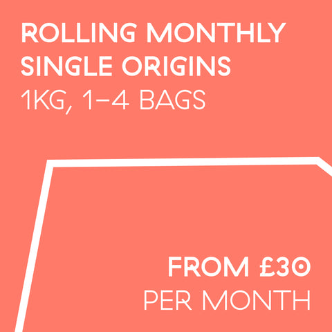 Rolling Subscription 1kg | Single Origins