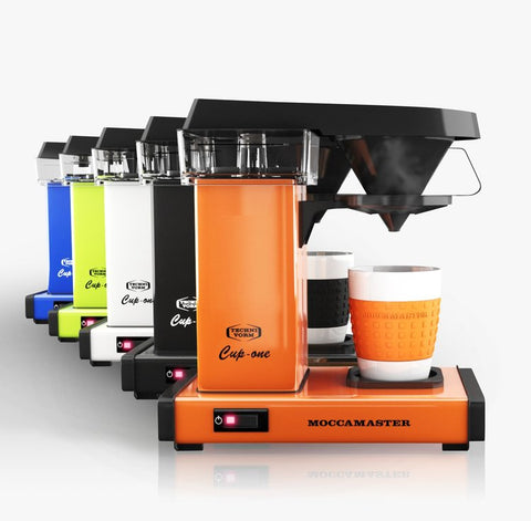moccamaster one cup all colours speciality coffee batch brewer