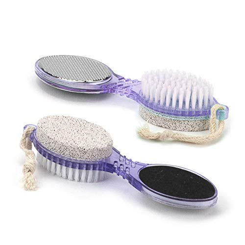 4 in 1 Pedicure Paddle Kit Tool with Pumice Stone for Feet Set (1 Pack) - Offer Hunts