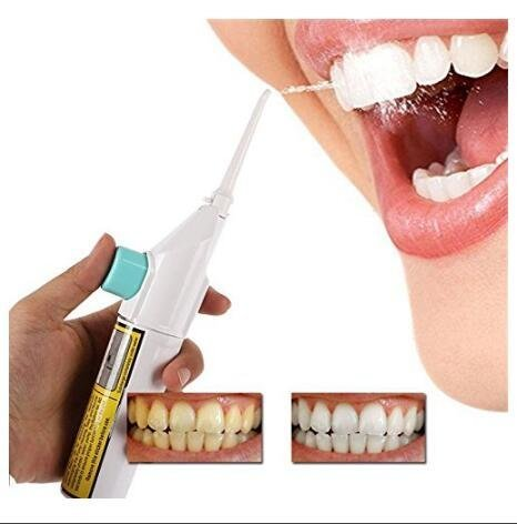 Portable Power Floss Dental Water Jet Cords Tooth Pick Without Batteries - Offer Hunts