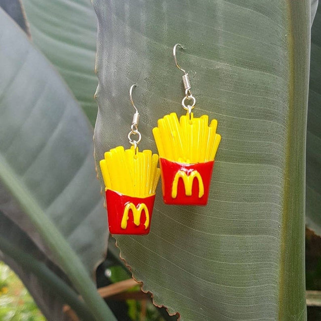 McDonalds Fries Earrings - Offer Hunts