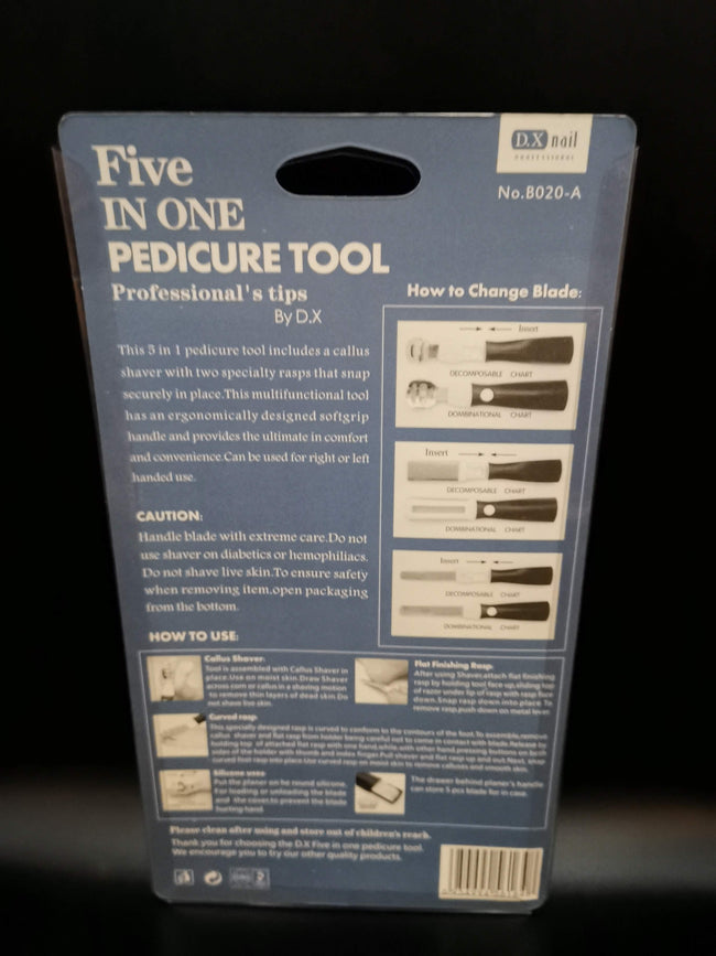 Pedicure tool 5 in 1 - DX Nail - Offer Hunts