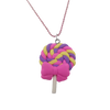 Lollipop Bowtie Necklace - Handmade - Offer Hunts