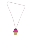 Cupcake Necklace - Handmade - Offer Hunts