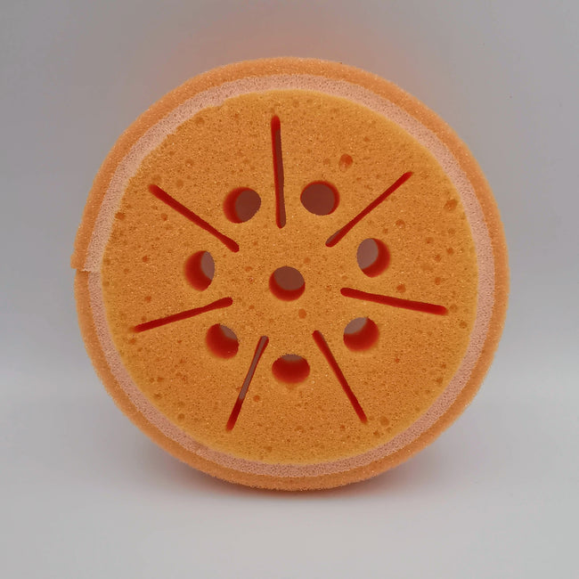Orange Sponge Scrub - Offer Hunts