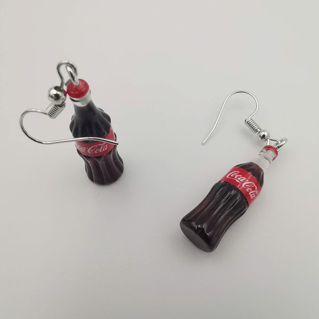 Coca-Cola Bottle Earrings - Offer Hunts