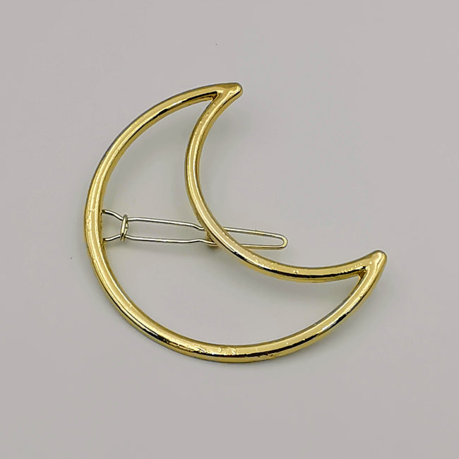 Moon Hair Clip - 2 Colors - Offer Hunts