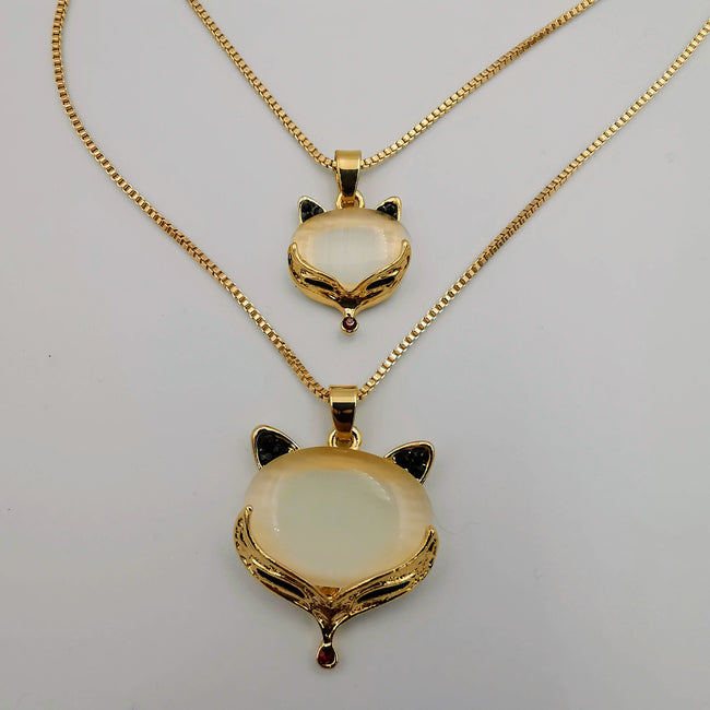Mother of Pearl Double Layer Necklace - Golden and Silver - Offer Hunts
