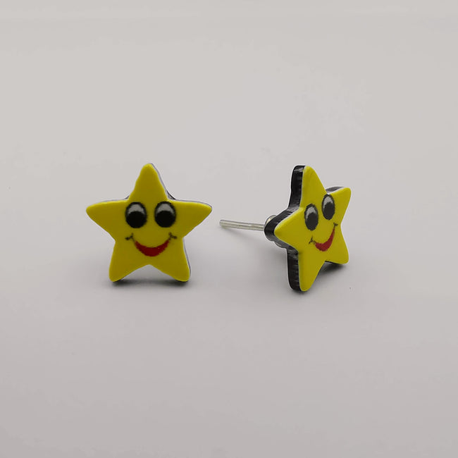 Smiley Earrings - 6 Designs - Offer Hunts