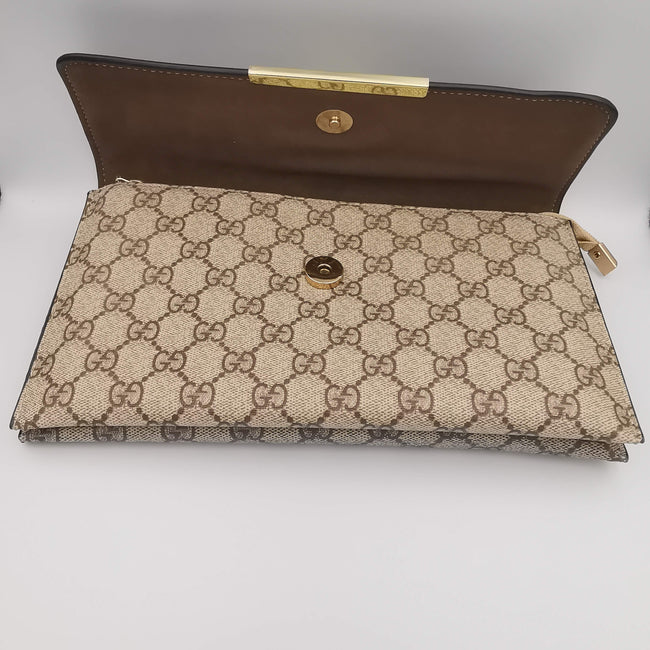 Gucci Apricot Black Bag - Offer Hunts