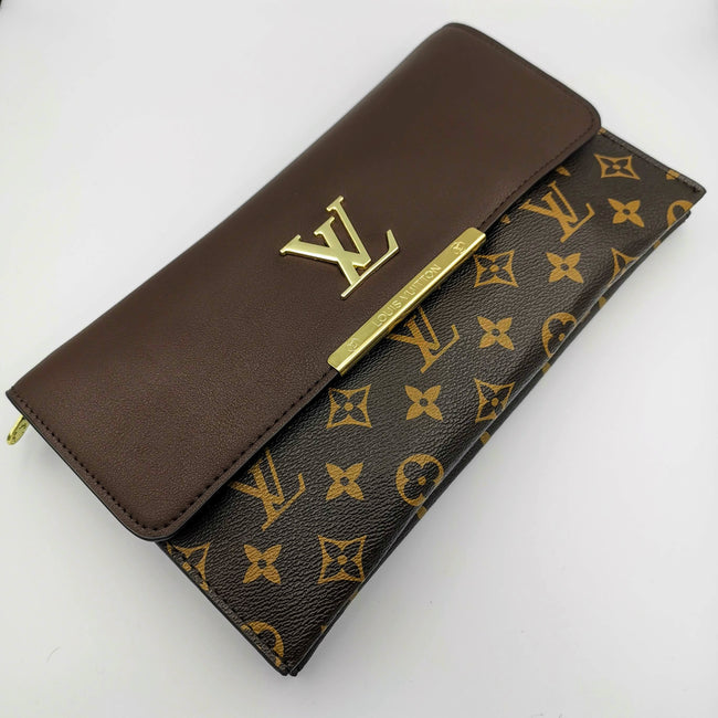 Louis Vuitton Brown Leather Bag - Offer Hunts