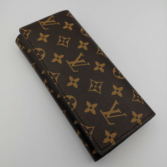 Louis Vuitton Brown Leather Purse - Offer Hunts