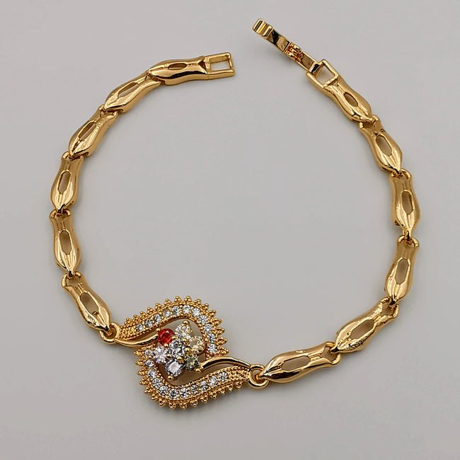 24K Gold Plated Elated Bracelet - CD - Offer Hunts