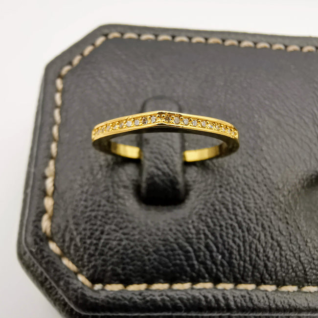 Simplistic Twins Ring - 24K Gold Plate - Offer Hunts