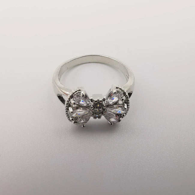 Design 2 - Silver Color Fashion Accessory Ring [R004] - Offer Hunts